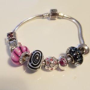 Authentic Chamellia Charm Bracelet